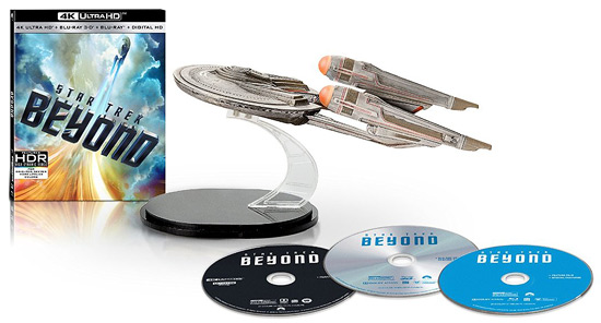 Star Trek Beyond (Amazon-exclusive 4K Ultra HD Blu-ray Combo)
