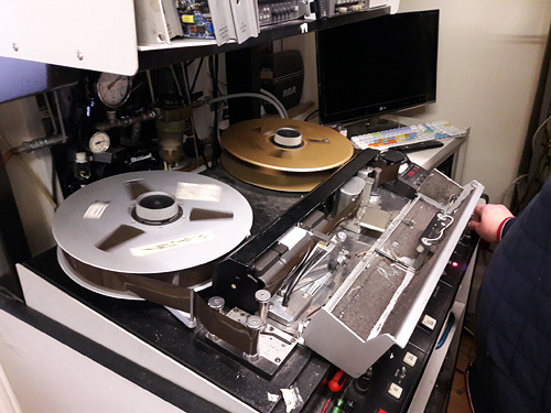 "Remastering the 2"" quad tape"