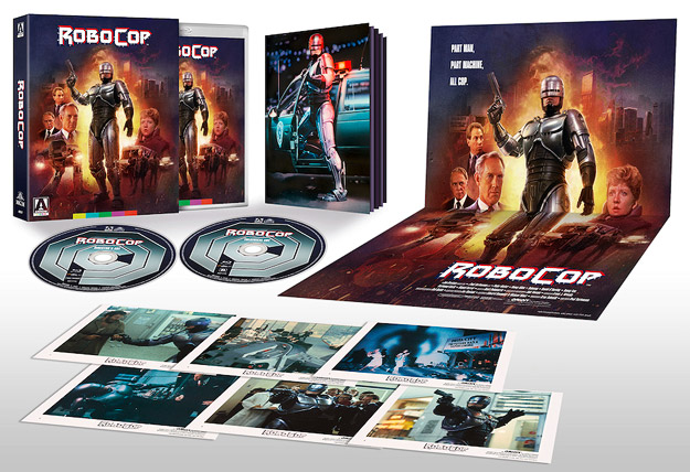 RoboCop: Limited Edition (Arrow Video Blu-ray Disc)