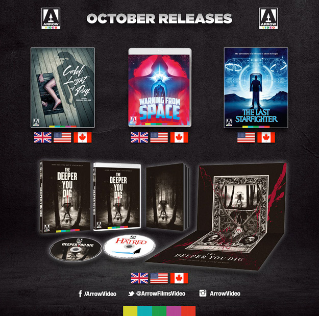 Arrow Video October 2020 slate