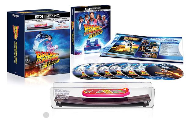 Retour vers le futur: Ultimate Trilogy (4K Ultra HD exclusive d'Amazon)