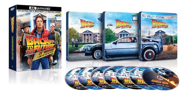 Retour vers le futur: la trilogie ultime (4K Ultra HD exclusif à Best Buy)
