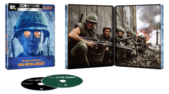 Full Metal Jacket 4K Best Buy exclusive Steelbook