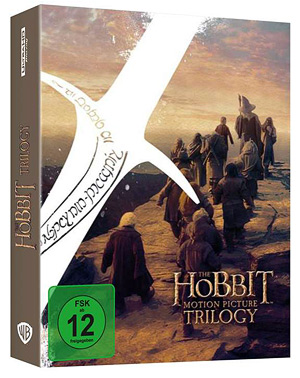The Hobbit: The Motion Picture Trilogy (German 4K Ultra HD)