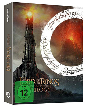 The Lord of the Rings: The Motion Picture Trilogy (German 4K Ultra HD)