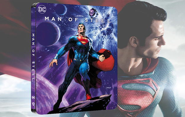 Man of Steel (4K Ultra HD Steelbook - Zavvi exclusive)