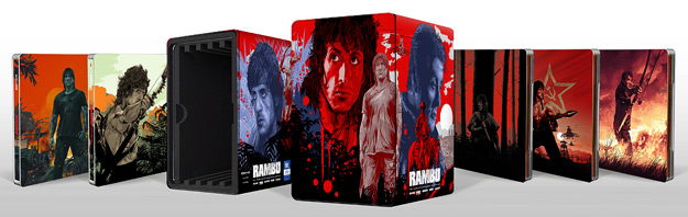 Rambo: The Complete Steelbook Collection (4K Ultra HD)