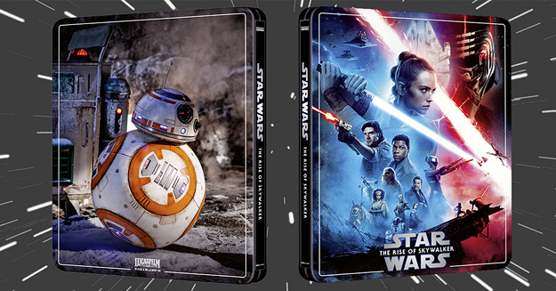Star Wars: The Rise of Skywalker (4K Ultra HD Steelbook - Zavvi exclusive)