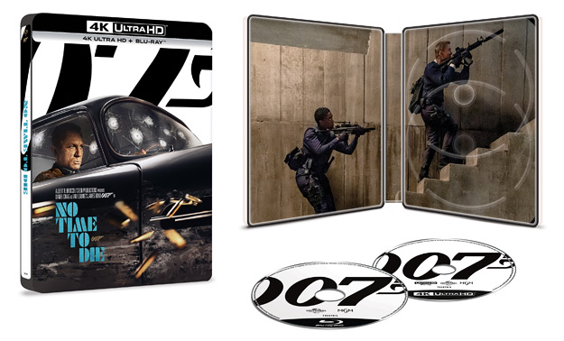 No Time to Die (Zavvi Steelbook 4K Ultra HD)