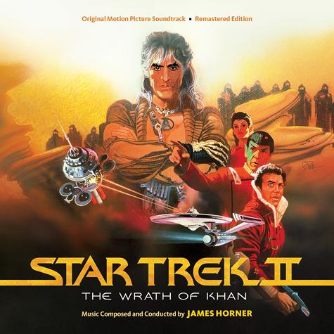 Star Trek II: The Wrath of Khan – Limited Edition 2-CD soundtrack