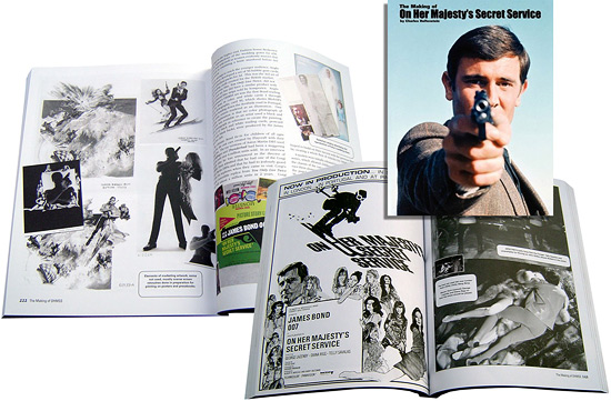 The Making of On Her Majesty's Secret Service book