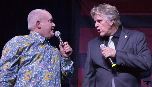 Bud Elder and Gary Busey