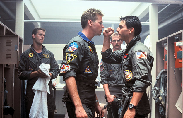 A scene from Top Gun