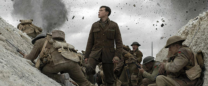 Bill reviews Sam Mendes' 1917 in 4K UHD from Universal, with Oscar-winning cinematography by Roger Deakins