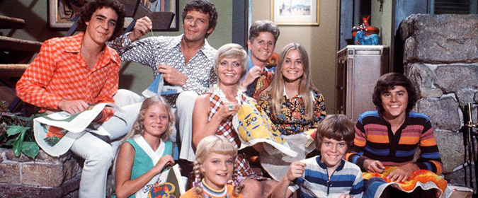 Michael Coate celebrates the 50th anniversary of TV's The Brady Bunch with historian Herbie J Pilato