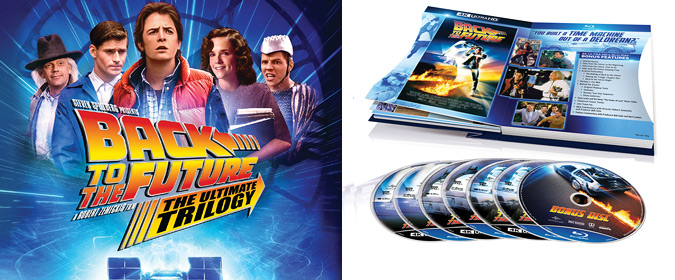 Universal sets Back to the Future: The Ultimate Trilogy for Blu-ray, 4K Ultra HD, DVD, and Digital in October