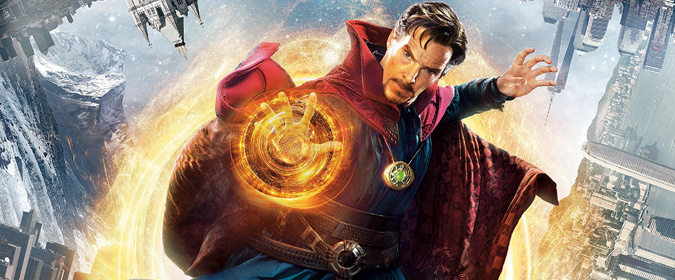 Bill checks out Scott Derrickson's Doctor Strange, now available in 4K from Disney and Marvel