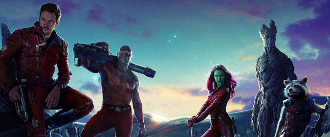 Bill reviews James Gunn's original Guardians of the Galaxy on 4K Ultra HD from Marvel & Disney