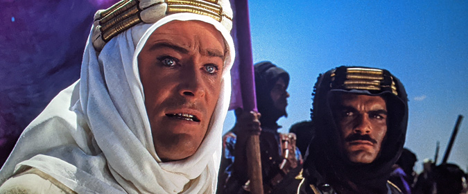 Bill reviews David Lean's LAWRENCE OF ARABIA in Ultra HD from the Columbia Classics 4K Collection