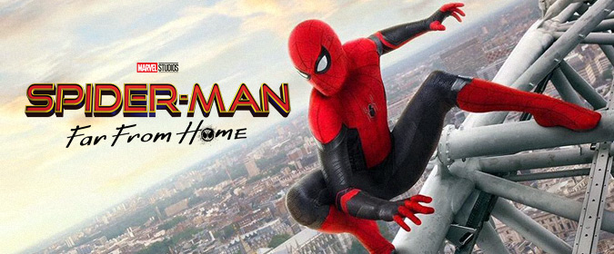 Tim Salmons goes web-slinging with Jon Watts's Spider-Man: Far From Home in 4K UHD from Sony & Marvel