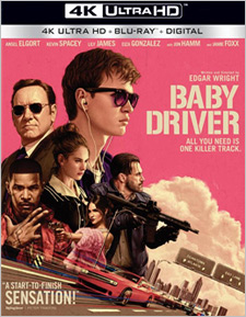 Baby Driver (4K Ultra HD Blu-ray)