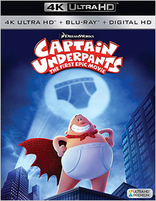 Captain Underpants: The First Epic Movie (4K Ultra HD)