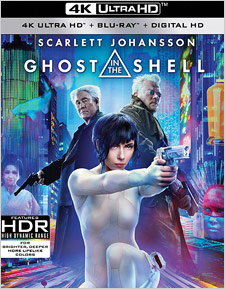 Ghost in the Shell (4K Ultra HD Blu-ray)