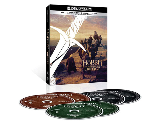 The Hobbit: The Motion Picture Trilogy (4K Ultra HD)