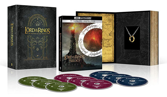 The Lord of the Rings Trilogy Amazon Gift Set (4K Ultra HD)