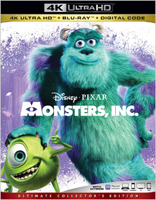 Monsters Inc (4K Ultra HD)