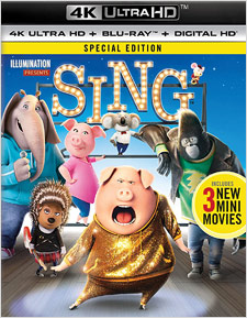 Sing (4K Ultra HD Blu-ray)