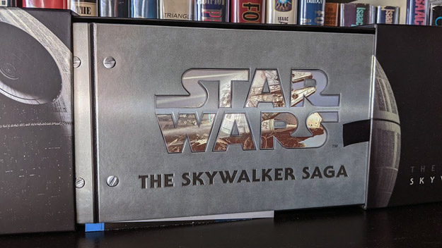 Star Wars: The Skywalker Saga (4K Ultra HD/Blu-ray Disc) (Best Buy exclusive box set)