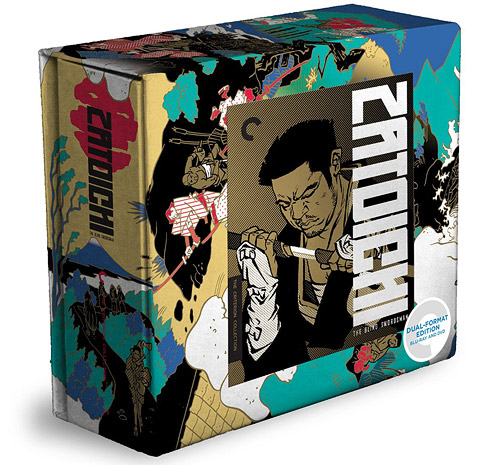 Zatoichi: The Blind Swordsman (Criterion Blu-ray box set)