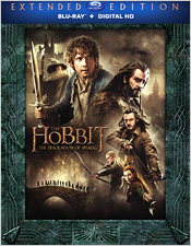 The Hobbit: The Desolation of Smaug - Extended Edition (Blu-ray Disc)