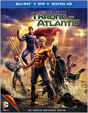 Justice Leage: Throne of Atlantis (Blu-ray Disc)