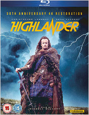 Highlander: 30th Anniversary Edition (Blu-ray Disc)