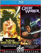 The House Where Evil Dwells/Ghost Warrior (Blu-ray Disc)
