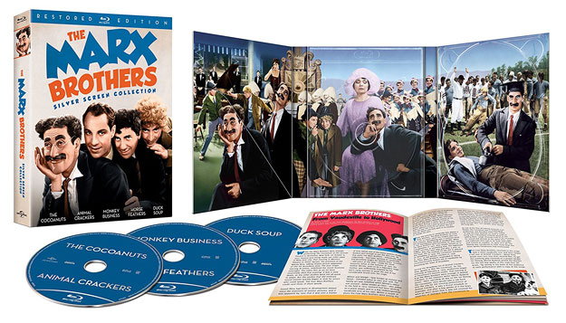 The Marx Brothers Silver Screen Collection - Restored Edition (Blu-ray Disc)