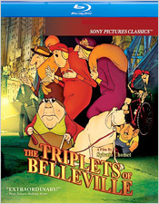 The Triplets of Belleville (Blu-ray Disc)