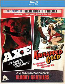 Axe & Kidnapped Coed: The Films of Frederick R. Friedel (Blu-ray Disc)
