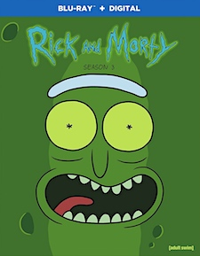 Rick and Morty: Season 3 (Blu-ray Disc)