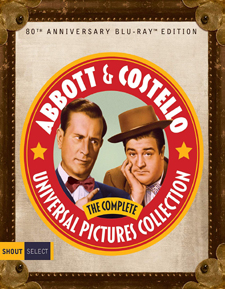 Abbott and Costello: The Complete Universal Collection – 80th Anniversary Edition (Blu-ray Disc)