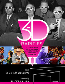 3-D Rarities: Volume 2 (Blu-ray Disc)
