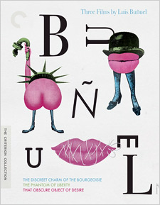 Three Films by Luis Buñuel (Blu-ray Disc)