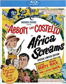 Africa Screams (Blu-ray 3-D)