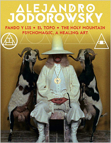 Alejandro Jodorowsky: 4K Restoration Collection (Blu-ray Disc)
