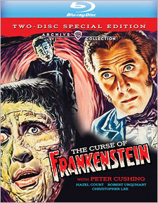 The Curse of Frankenstein: Special Edition (Blu-ray Disc)