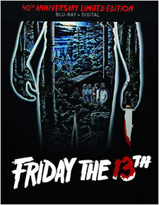 Friday the 14th: 40th Anniversary Edition (Steelbook Blu-ray)