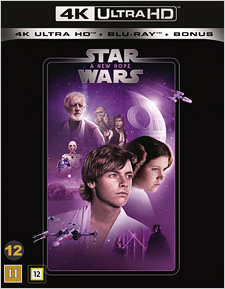 Star Wars: A New Hope (Swedish Blu-ray Disc)