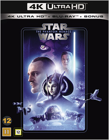 Star Wars: The Phantom Menace (Swedish Blu-ray Disc)